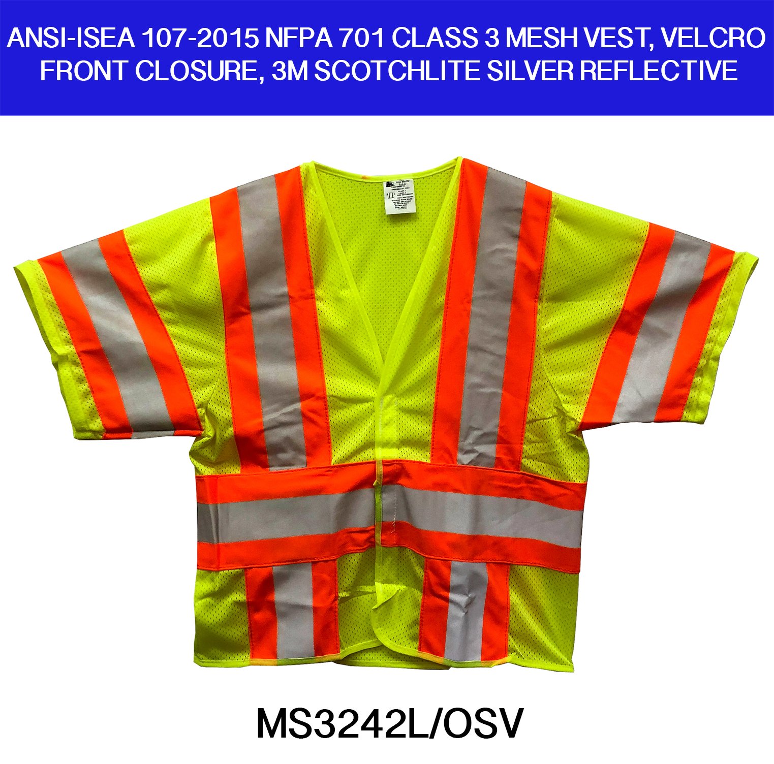 Ansi Class 3 Iron Horse Safety Vests